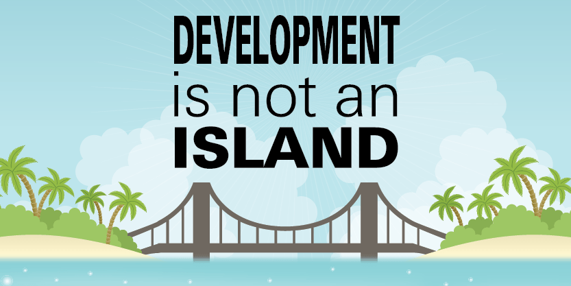 development is not an island