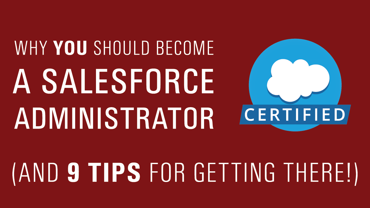 Simplus Why You Should Become A Salesforce Administrator