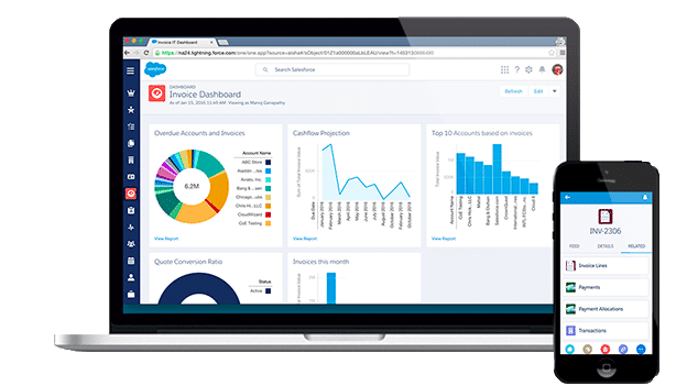 salesforce billing software with simplus