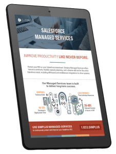 simplus managed service onehseet