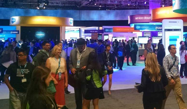 Simplus booth 2019 dreamforce event